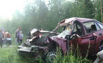 Авария унесла жизнь трёх молодых людей