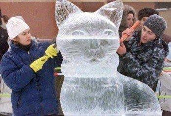 В Череповце принимают заявки на участие в конкурсе ледяных скульптур